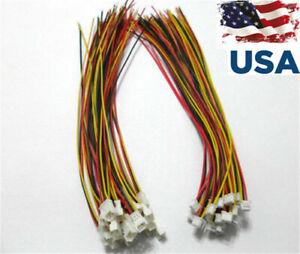 20-Set-Micro-JST-1-25-3-Pin-male-amp-femelle-connecteur-Plug-avec-fils-cables-USA