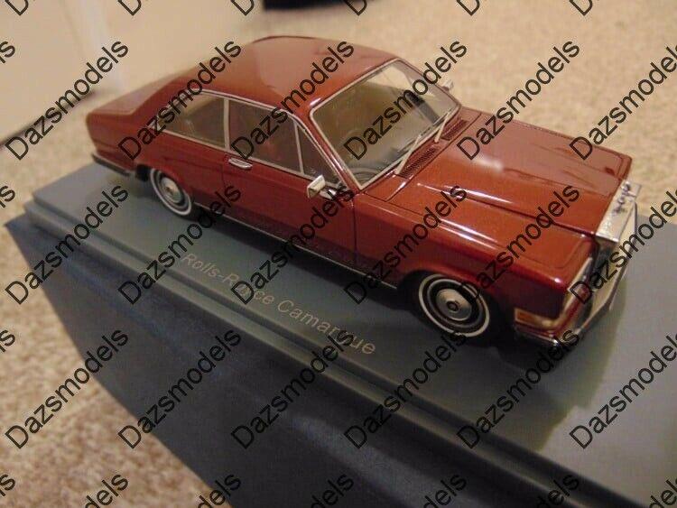 NEO Rolls Royce Camargue bordeaux échelle 1 43 44210