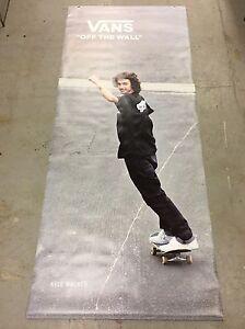 vans skateboarding kyle walker giant vinyl poster ebay