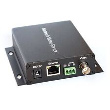 Wireless Capable Network Video Server, H.264 Mini IP Video Encoder VS-3011E