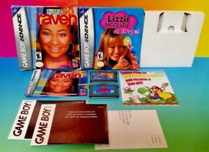 Disney That's So Raven + Lizzie McGuire - Game Boy Advance Complete Nintendo GBA