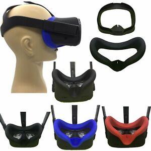 Anti-sudore-Cappuccio-IN-SILICONE-SUN-Maschera-Occhi-Copertura-per-Oculus-Quest-realta-virtuale-VR