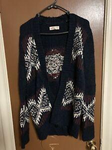Unisex-Hollister-Knit-Sweater-Size-Medium