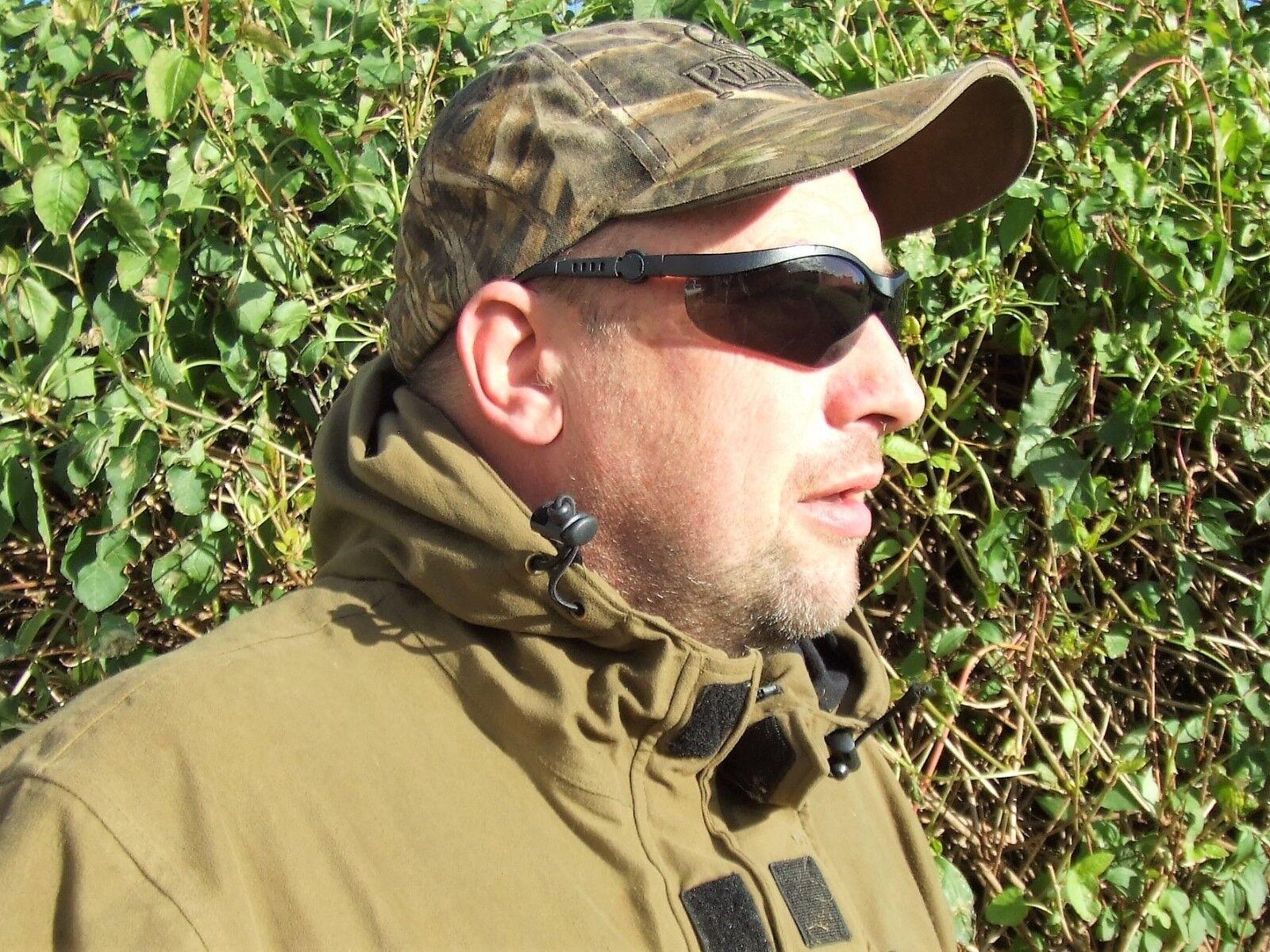 Pichón Caza Seguridad Seguridad Seguridad Gafas de Sol Irrompible Negro Ahumado Lentes EN166F 8877c4