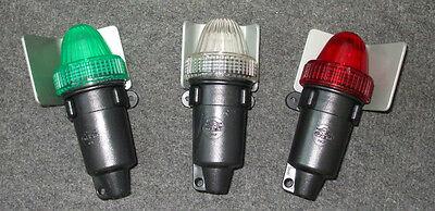 LED Emergency Set Of Three Navigation Lights Battery Operated Boat Yacht VS18