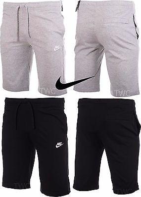 Mens Nike Crusader Cotton Jersey Casual Training Gym Sports Shorts Knee  Length   eBay