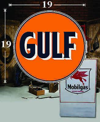 "1 19/"" x 14.5/"" SINCLAIR Shield Gas Vinyl Decal Lubester Oil Pump Can Lubster"