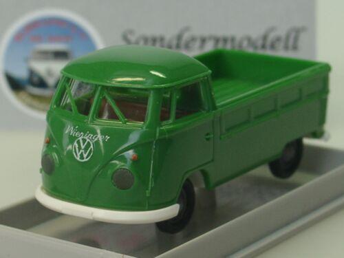 lim.250-1:87 Brekina VW T1 Pritsche 37.Treffen BULLIKARTEI 2017