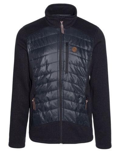 Ternua chaqueta likon Hybrid Jacket señores Hybrid chaqueta Black-Grey