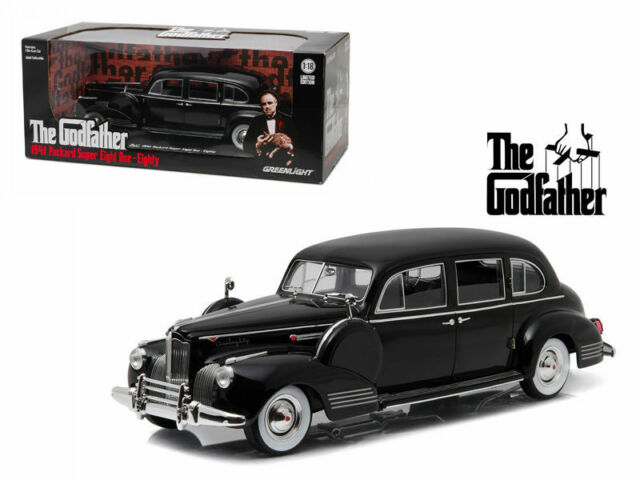 Greenlight Packard Super Eight One Eighty 1941 The Godfather 1/18 12948