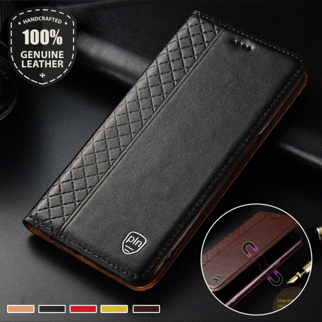 finest selection 2f57d 0723e Luxury Magnetic Real Leather Flip Wallet Case Cover For Google Pixel 2 3 3a  XL