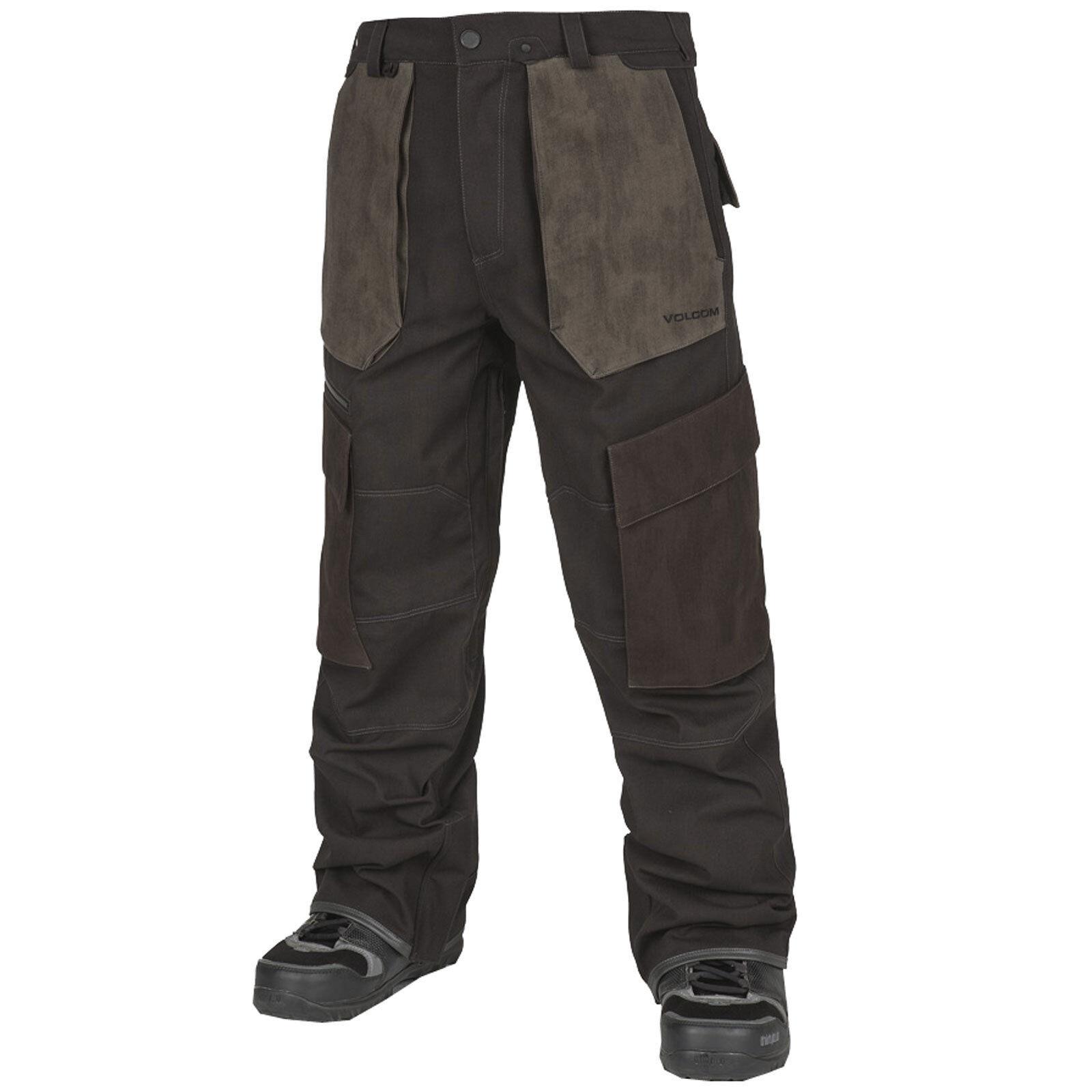Volcom Trousers Seventy Fives Pant Uomo Snowboard Trousers Volcom Ski Snow Winter Nuovo e81c45