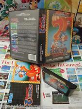 Megadrive MD:Sonic 2 [TOP SEGA 1992 & 1ERE EDITION] COMPLET - Pal