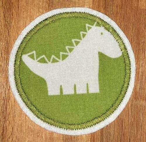 Applikation Aufnäher grün Patch Knieflicken Flicken Hosenflicken Dinos