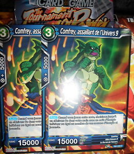TB1-040 Comfrey NM Dragon Ball Super Français assaillant de l/'Univers 9 Foil