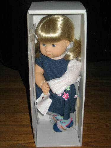 American Girl BITTY TWINS 3G light skin BLOND HAIR BLUE EYES Twin ONE GIRL DOLL