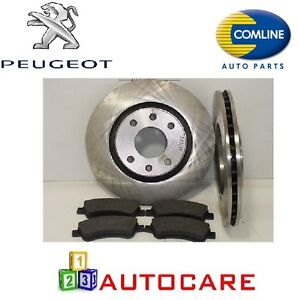 front brake discs and pads for peugeot 207 1 4 1 6 hdi hdi 110 ebay. Black Bedroom Furniture Sets. Home Design Ideas