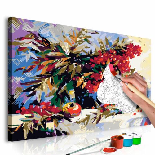 Malen nach Zahlen Erwachsene Wandbild Malset mit Pinsel Malvorlagen n-A-0345-d-a