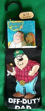 BNWT Family Guy Socks UK 6-11 Off-Duty Dad Peter Griffin Great for Father's day