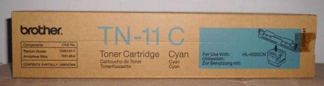 Original Brother TN-11C Toner cyan  für HL 4000CN  CT200143  OVP A