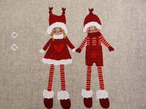 0,5 m Dekostoffe Weihnachten Weihnachtskind  Wichtel     bunt Stoff B 7299 357