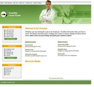 Doctor-Job-Search-Website-Optional-Hosting-Free-Domain-For-1-Year