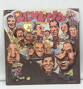 Politics and Popcorn Starring Rich Little Vinyl Album LP Record Mercury VG+