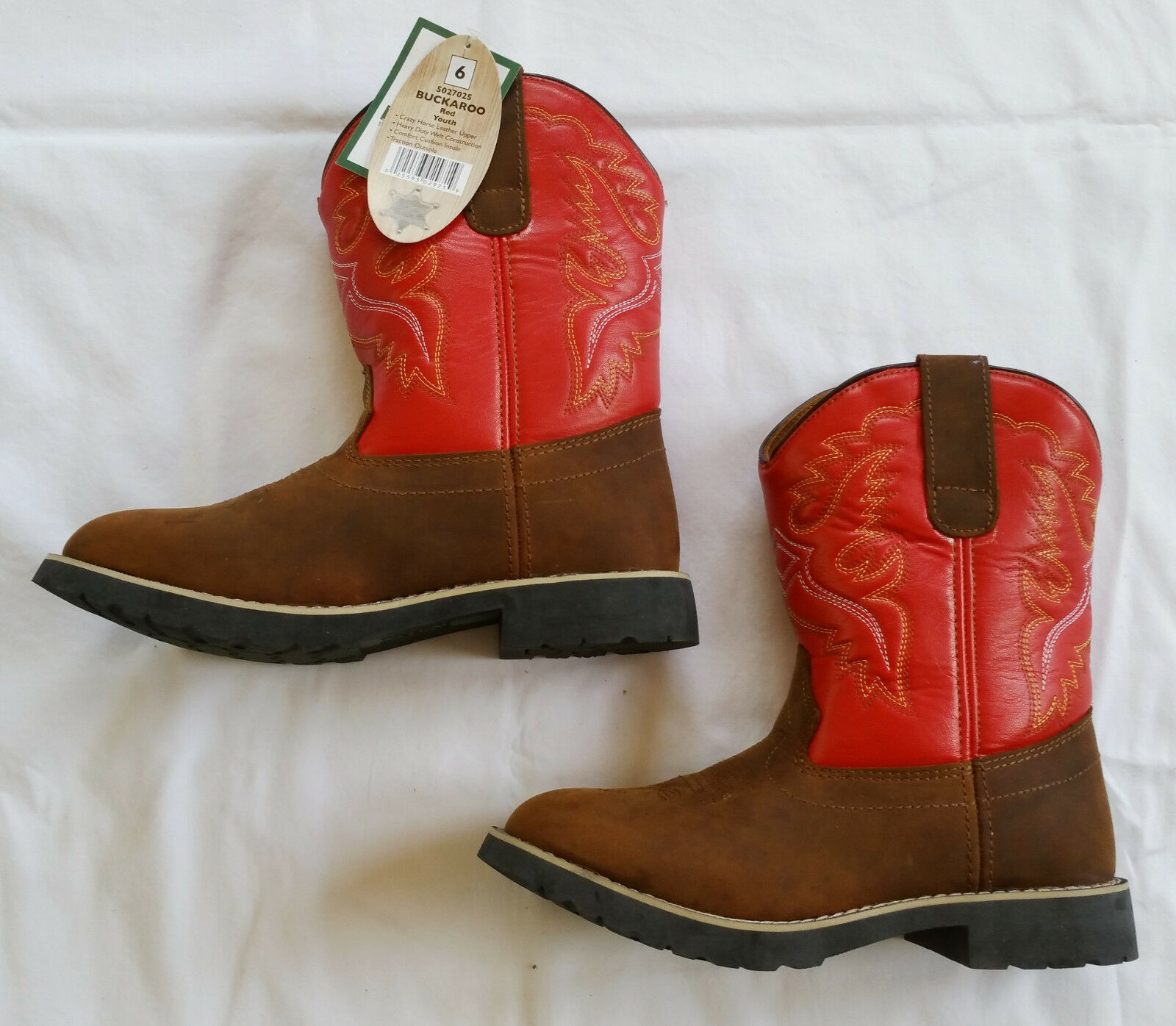 youth size 6 boots