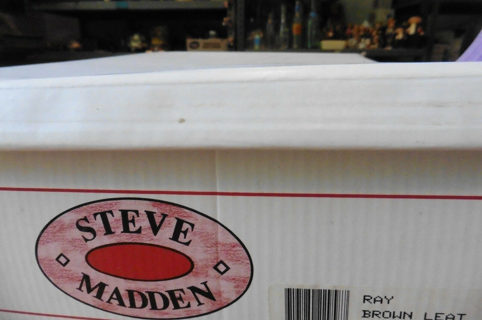 NEW Steve Madden Braun Leder Leder Leder Damenschuhe Stiefel Ray Brazil sz 6.5 mid-calf high heel 954300