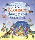1001 Monster Things to Spot Sticker Book by Gillian Doherty (Paperback, 2014)
