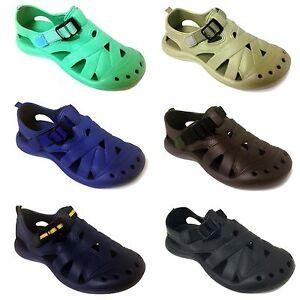 Womens-Sandals-Clogs-Hook-Loop-Water-Flip-flops-Slipper-Shoes-Garden-Beach-Sizes