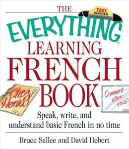Details about Everything Learning French Book : Speak, Write, and  Understand Basic French i