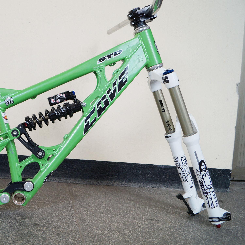 Cove Bikes STD Freeride Bike Vélo + 26 in + Vélo Chris King + vendeuse + RockShox 46738b