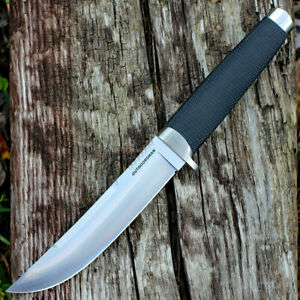 Cold Steel Outdoorsman Fixed Plain Blade Knife 6.0in San Mai Blade Kray-Ex 35AP