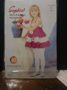 Little-Girls-Fashion-Pantyhose-By-Sophia-Size-Small-Peon-Punk-SIZE-1-3
