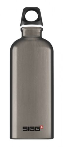 SIGG Alutrinkflasche Traveller Flasche 0,6l smoked pearl  Trinkflasche Aluminium