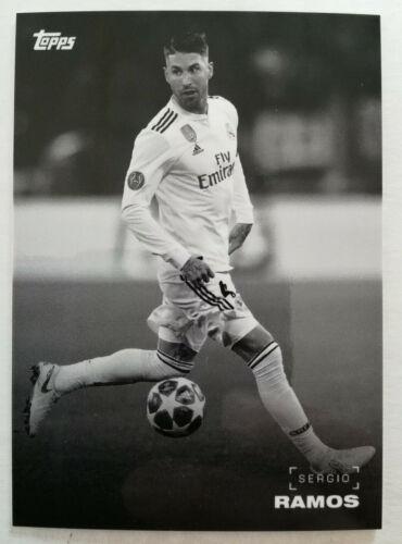 2019 Topps a petición Set #9 UEFA Champions League negro y blanco de su elección de tarjetas