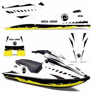 Details about Decal Graphic Kit Sea-Doo XP Jet Ski Wrap Jetski Decal Seadoo  Deco 94-96 WRECKED