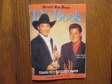 Sept 26-1993 Detroit Free Press TV Book/Mag(CLINT BLACK/VINCE GILL/JULIA ROBERTS
