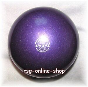 RSG-Ball-JUNIOR-BALL-Gymnastikball-VIOLETT-metallic-150-170mm-300g-NEU