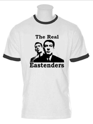 MENS KRAYS TSHIRT THE REAL EASTENDERS RONNIE REGGIE LONDON THE FIRM GANGSTERS