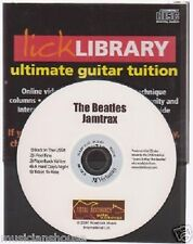 Lick Library THE BEATLES Guitar Jamtrax Jam Trax CD LEARN I FEEL FINE SONGS HITS