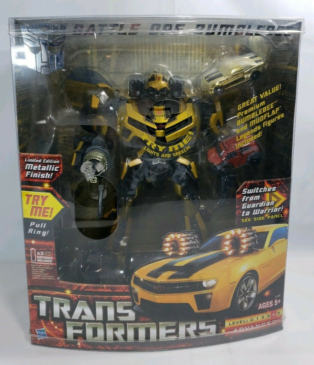 RARE Costco escl. Film Transformers Bumblebee BATTAGLIA OPS Mettuttiicocapolavoro