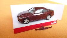 Herpa BMW 3-er E-92 2006 Coupe 3357 dunkelrotmet. OV