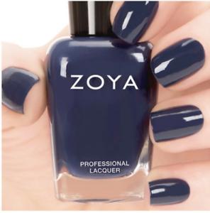 ZOYA ZP696 SAILOR navy blue nail polish lacquer CASHMERES Collection ...