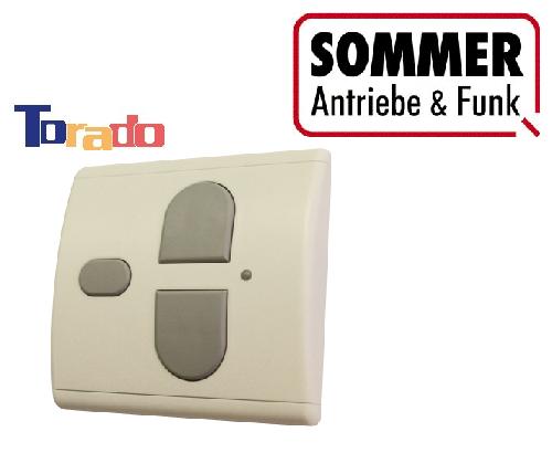Sommer Funk-Wandtaster Garagentorantrieb weiß 868 MHz Innen-Taster Funk marathon marathon marathon 1bd318