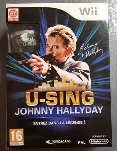 Johnny Hallyday-Coffret micro,karaoké,20 succès,jeu WI