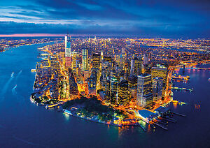 PUZZLE-2000-PIEZAS-teile-pieces-NEW-YORK-AERIAL-VIEW-EDUCA-16773
