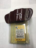 Triple K 246 Belt Slide Holster For Ruger P-93, P-94, P-95, P-944