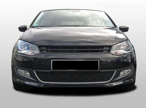 o emblème 09 VW POLO MK5 5 6R Badgeless debadged pare-chocs avant Sport Capuche grill w